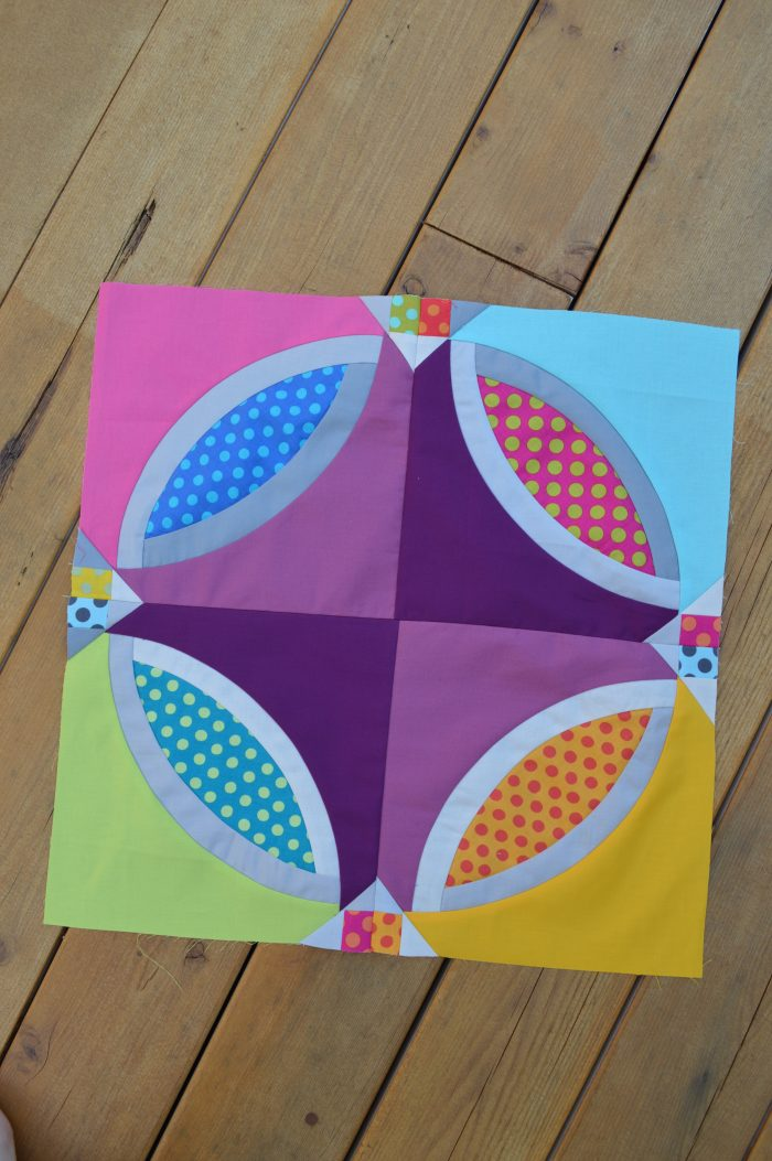 Polka Dot Bikini Quilt by Sharon McConnell