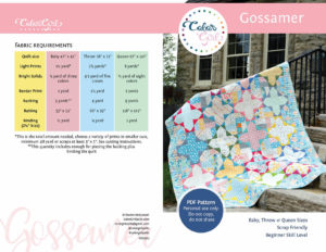 Gossamer scrap quilt sold by Color Girl Quilts