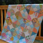 "New Quilt Pattern: ""Tipsy"" in Fat Quarterly"