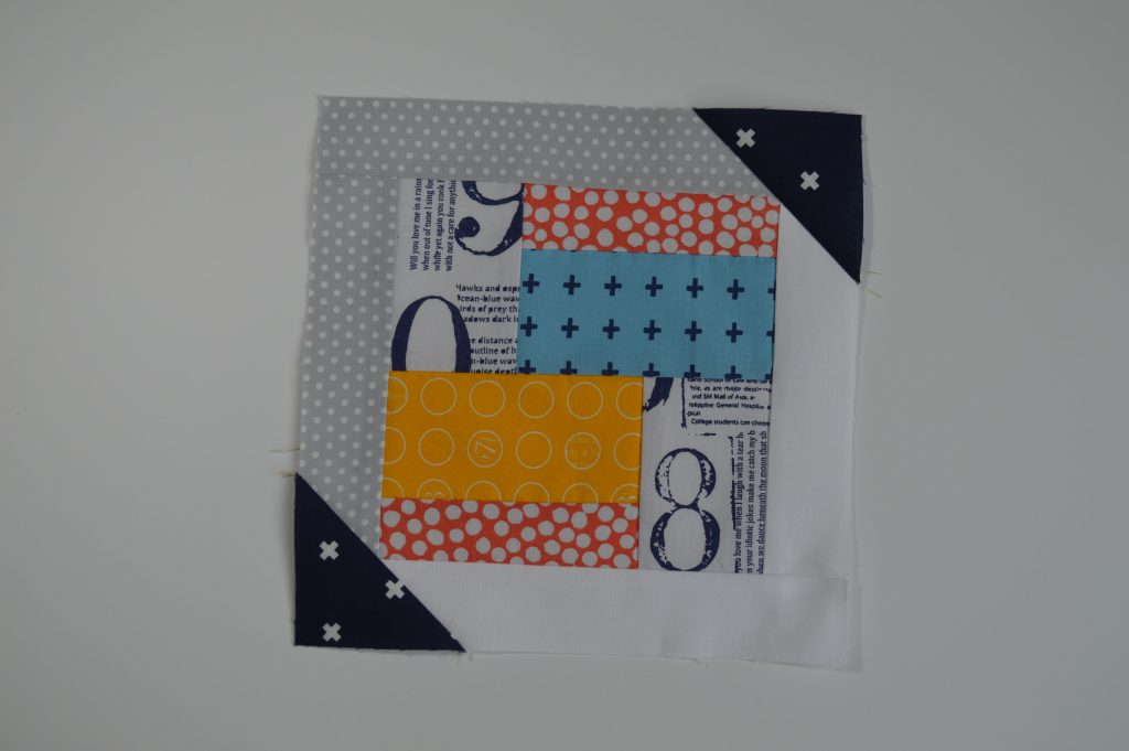 how to sew simple modern sampler quilt