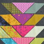 "Quilt In Progress: Broken ""V"""