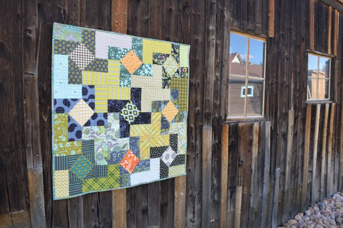 Finally Finished Quilt Dutch Windmill 2 Color Girl