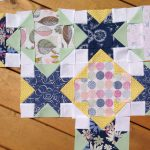 Quilt In Progress with Sketchbook Fabrics