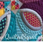 Kona Solids Quilts with Stash Fabrics