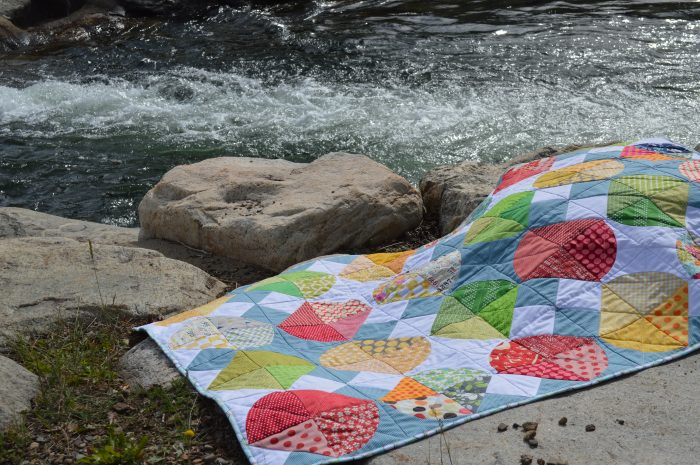 Tipsy Quilt by Color girl quilts