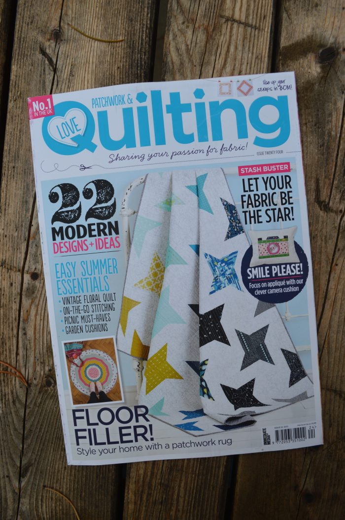 Love Patchwork and Quilting issue 24