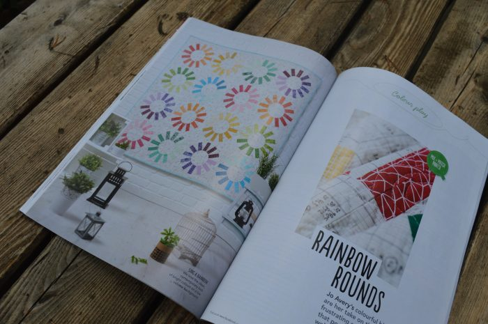 Love Patchwork and Quilting issue 24 quilt by Jo Avery