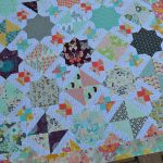 A Finished Quilt Top! Talia