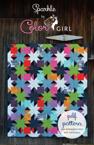 Sparkle Quilt Color Girl Quilts By Sharon Mcconnell