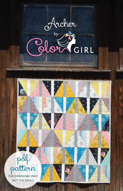 easy fat quarter quilt pattern Archives - Color Girl Quilts by ... : easy fat quarter quilt - Adamdwight.com