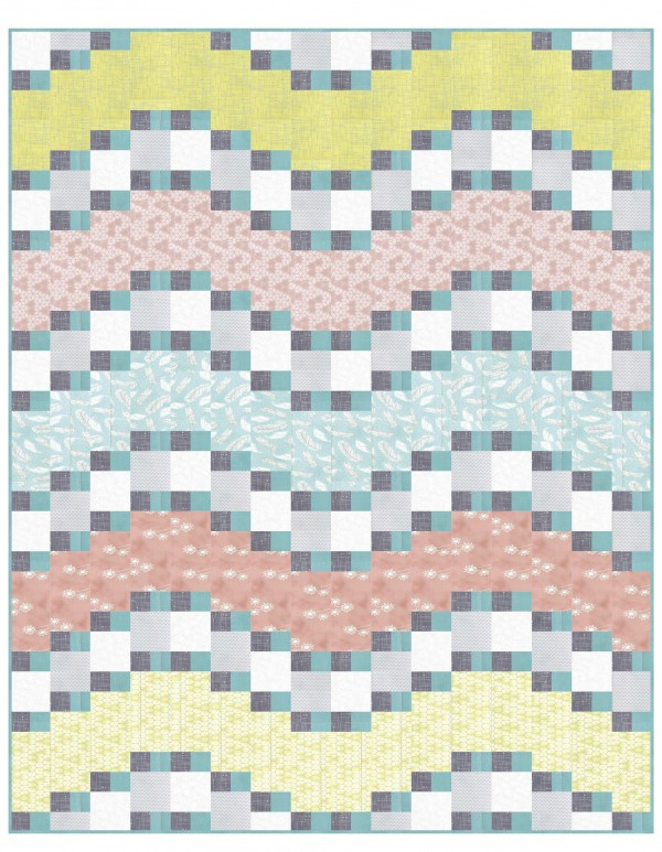 claribel quilt free pattern by Color Girl quilts for hoffman fabrics