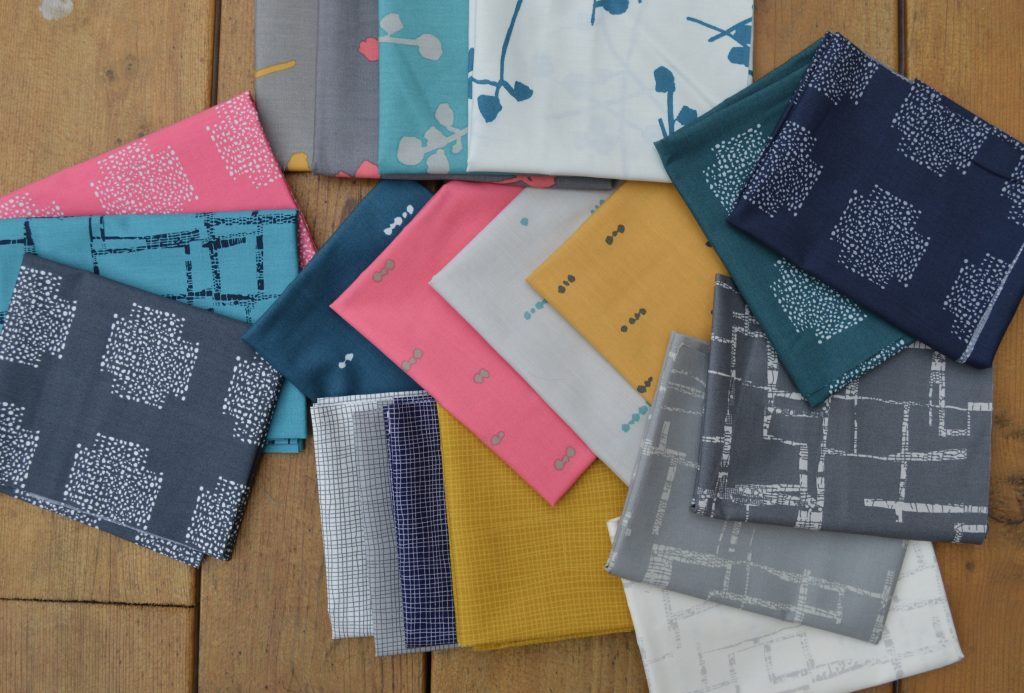 Imprint fabrics by Katarina Rocella for Art Gallery Fabrics