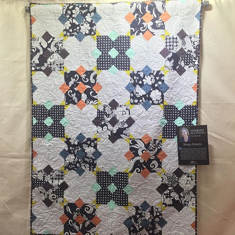 New Quilt Patterns For 2015 : New, Free Quilt Pattern Now Available - Color Girl Quilts by Sharon McConnell