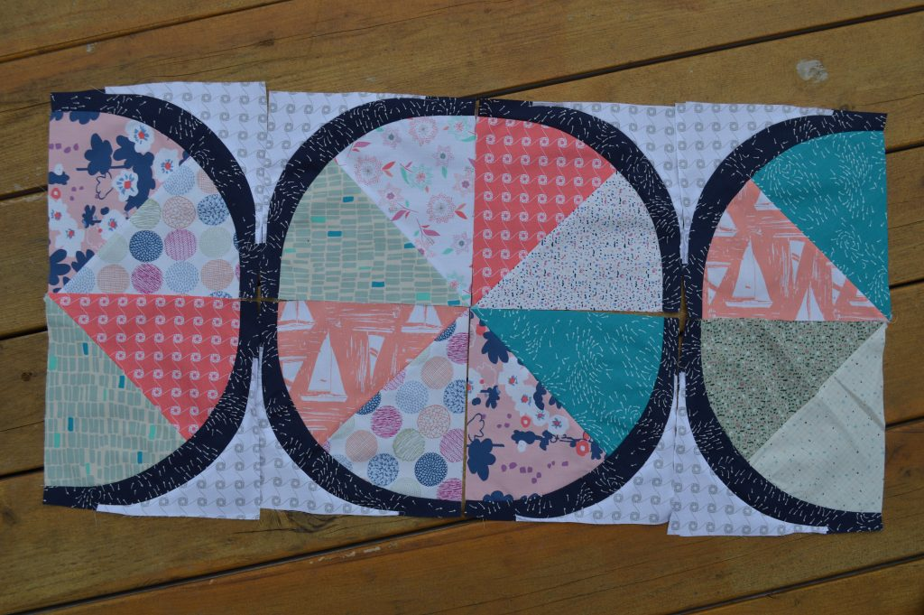 Coastal Quilt by sharon mcconnell with coastline fabrics by art gallery fabrics