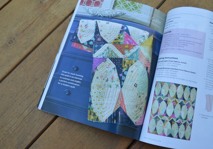 Modern Quilts Unlimited magazine