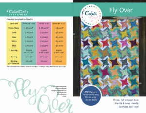 Fly over quilt pattern by Color girl Quilts
