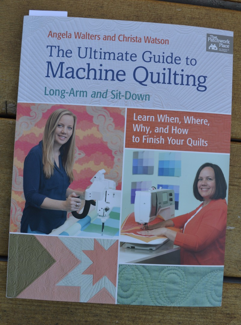 The Ultimate guide to machine quilting book