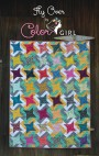Fly Over quilt pattern cover by Color Girl quilts