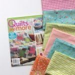 Spin Art Quilt in Quilts and More Magazine