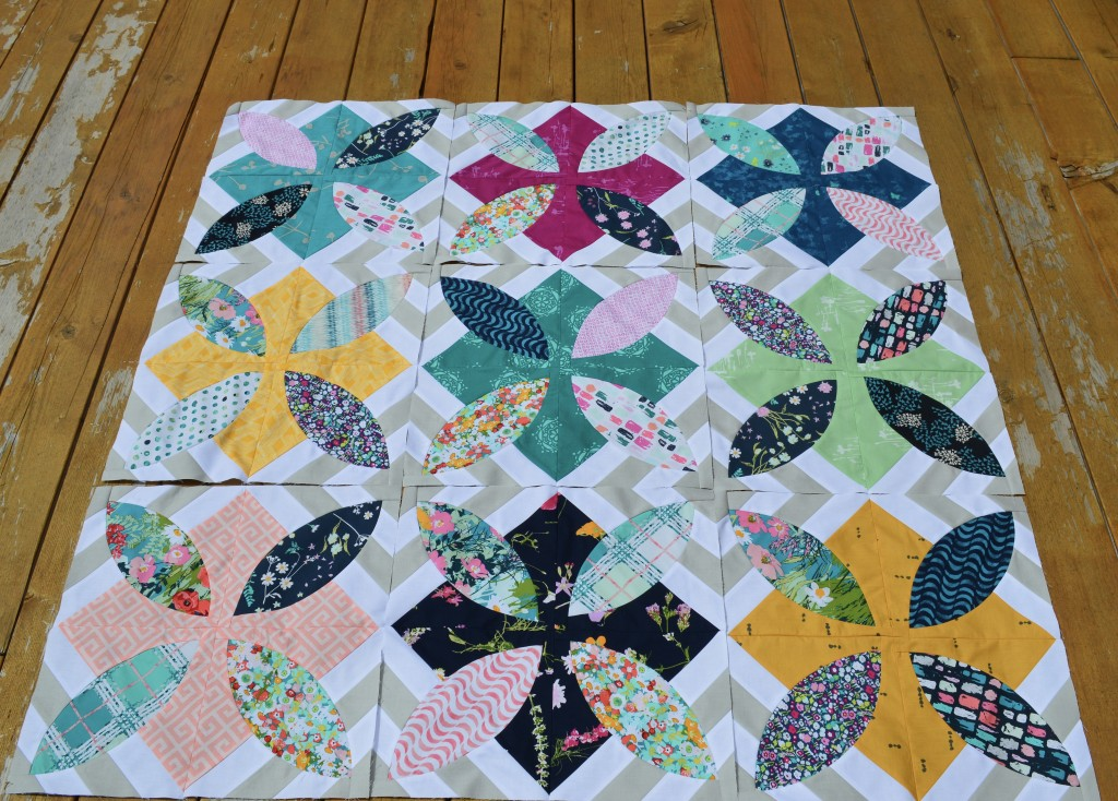 En Pointe quilt by Sharon McConnell