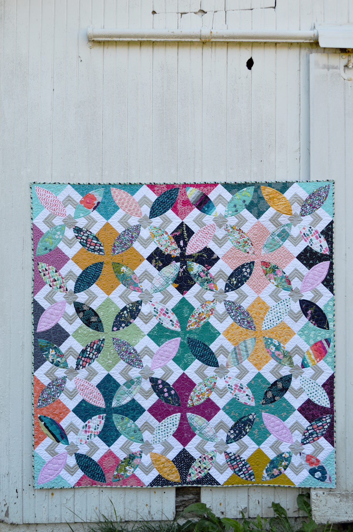 Summer Bloom Pattern Is Here Color Girl Quilts By