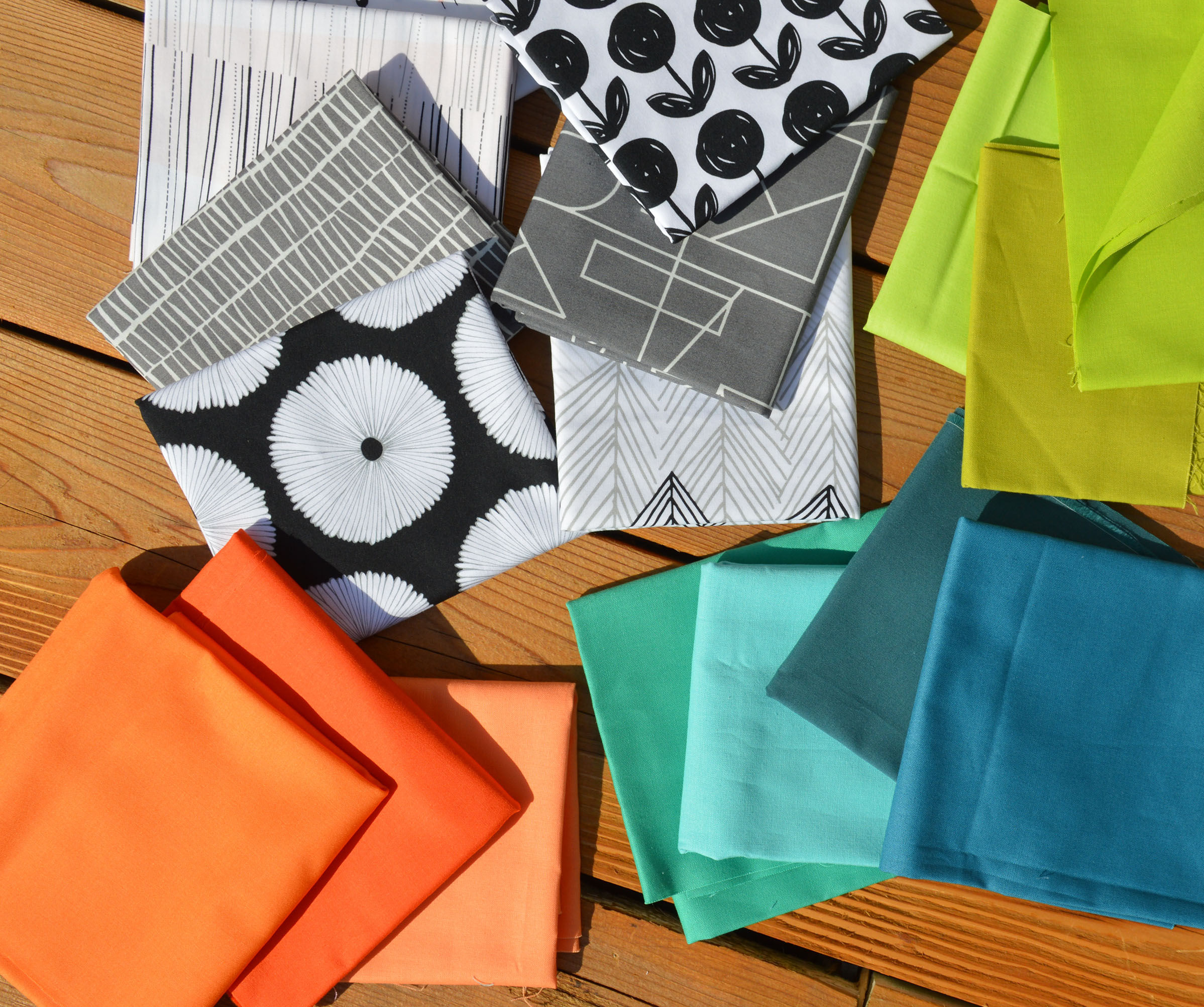how to choose fabric for quilt, lagom fabric by Art Gallery fabrics