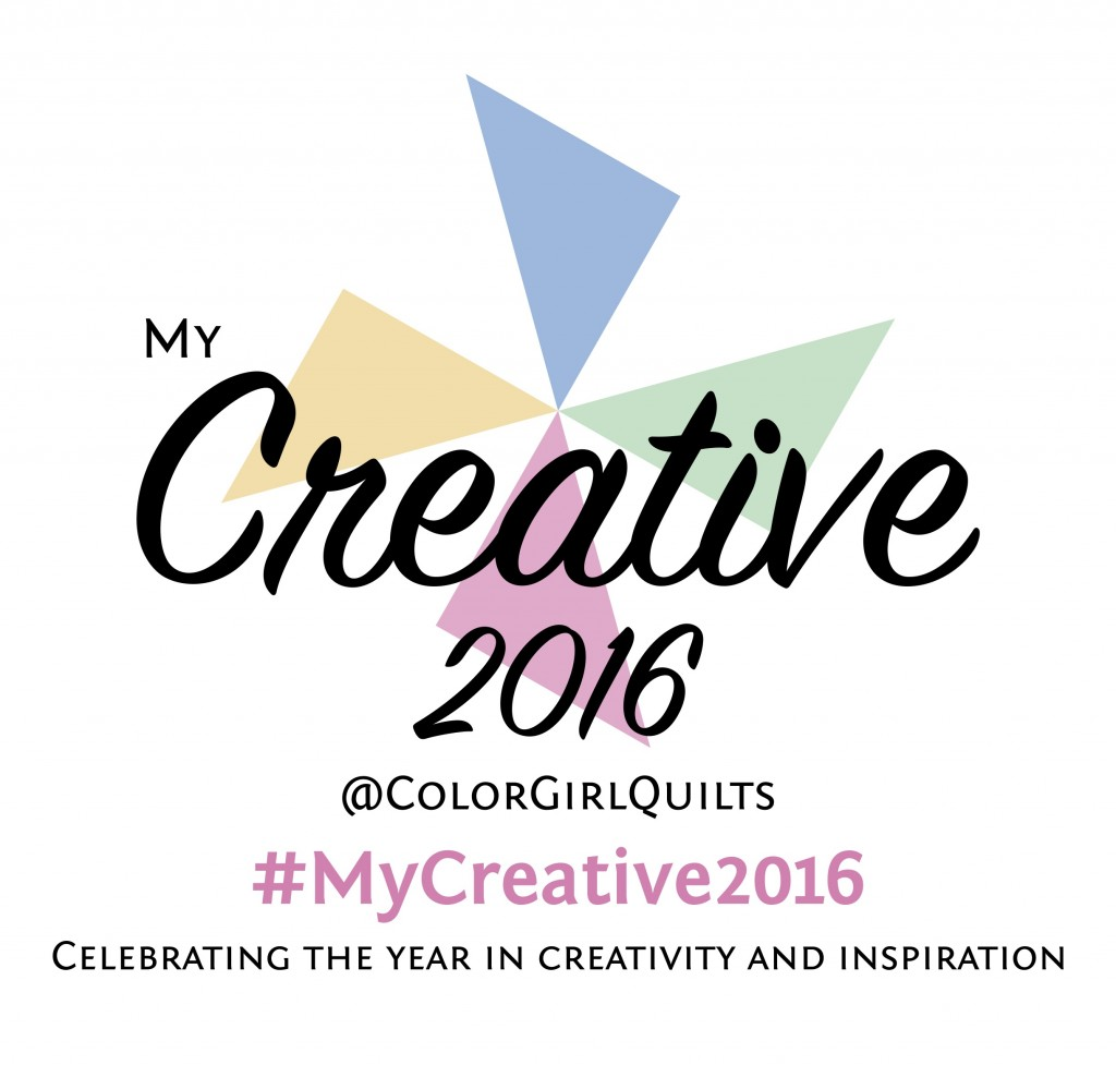 My creative 2016 celebration of crafty makers with Color Girl Quilts