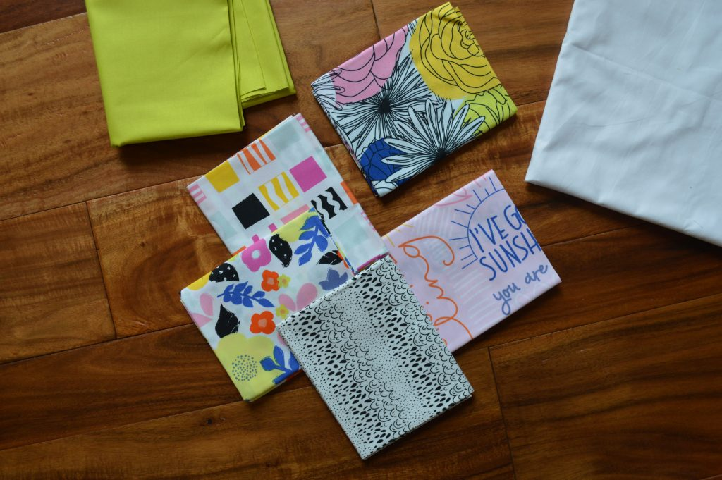 Here comes the fun fabric by Art Gallery fabrics