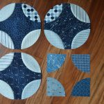 Quilting in Blue and White