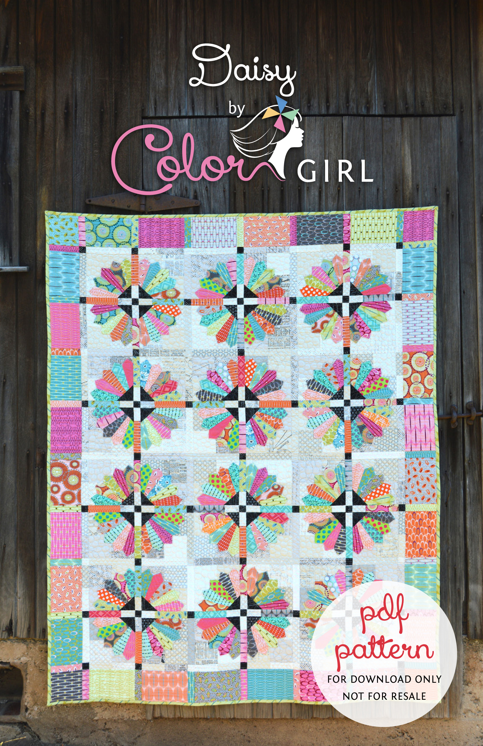 Brand New Pattern, Daisy, is Here! - Color Girl Quilts by Sharon ... : new quilting ideas - Adamdwight.com