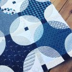 Indigo Mini Quilt Top, Done!