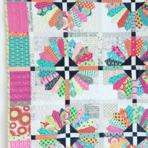 Daisy Quilt pattern by Color Girl, dresden plate quilt