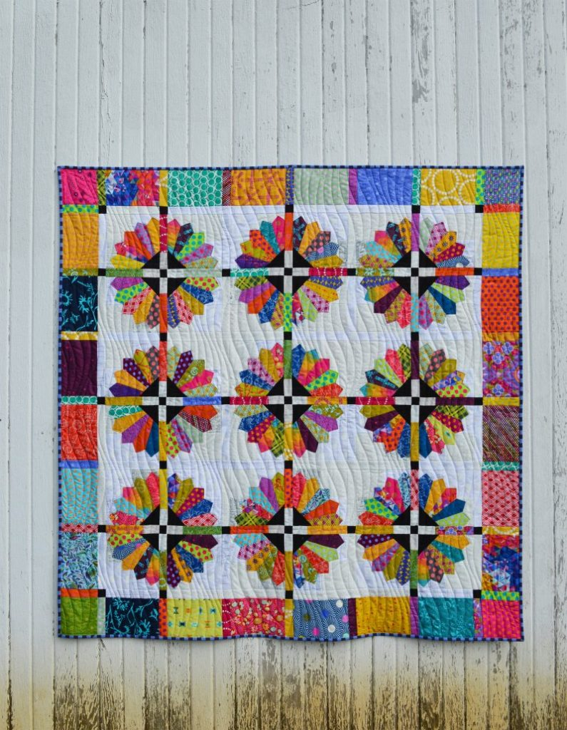 scrappy bright quilt Archives - Color Girl Quilts by Sharon McConnell : bright quilts - Adamdwight.com