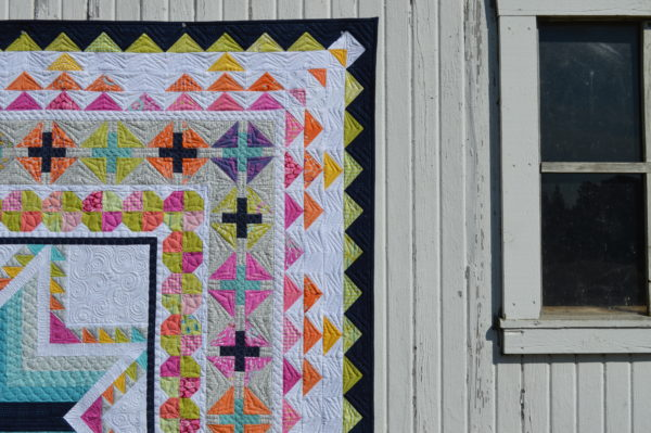 Pixie Medallion quilt pattern by Color Girl Sharon McConnell