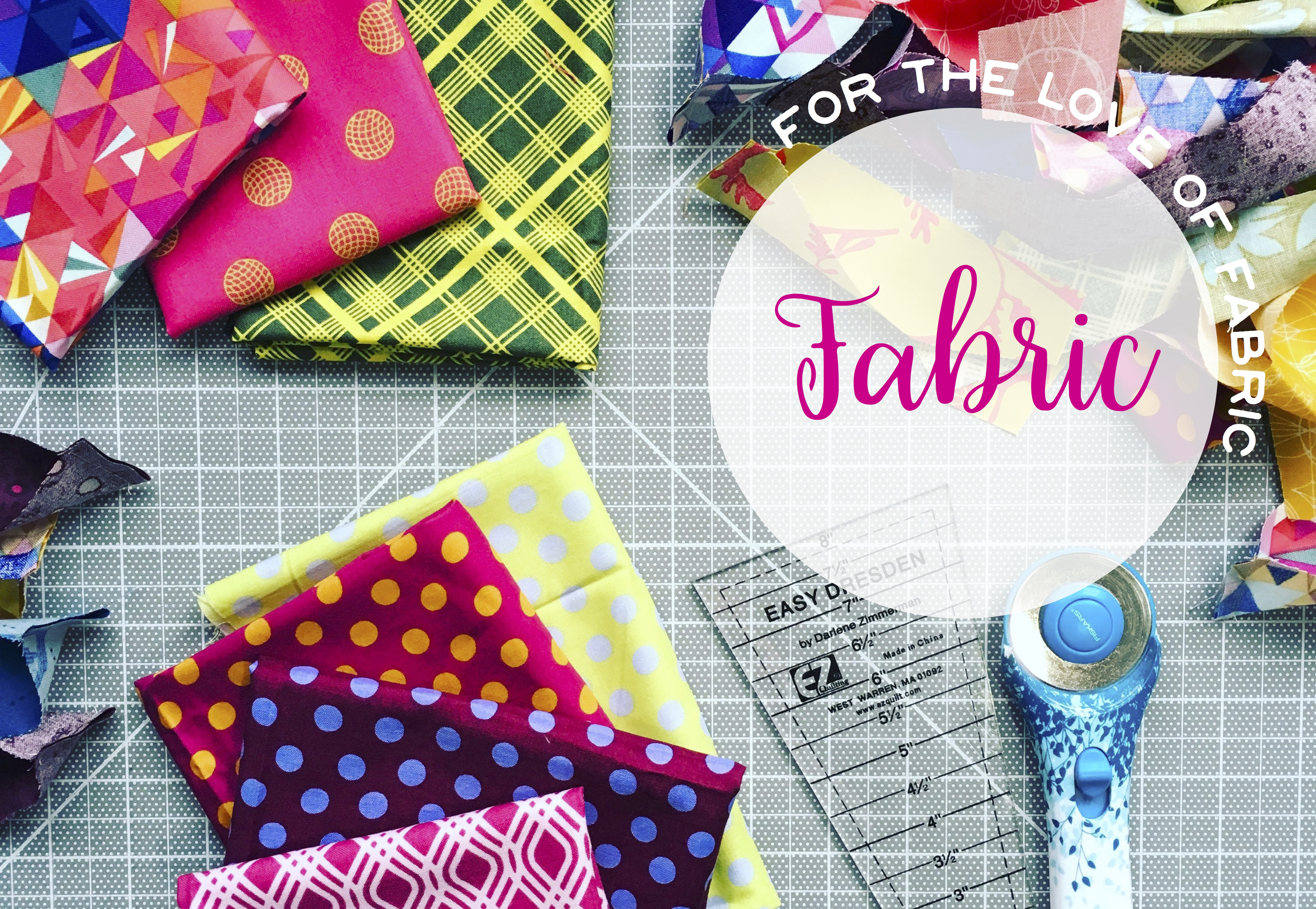 choosing fabric for quilts, bright colorful quilting fabric patterns