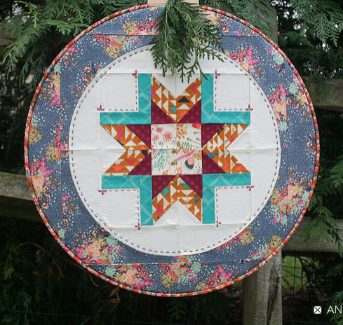 Hoop Quilt by AnneMarie Chaney with Art Gallery Fabrics