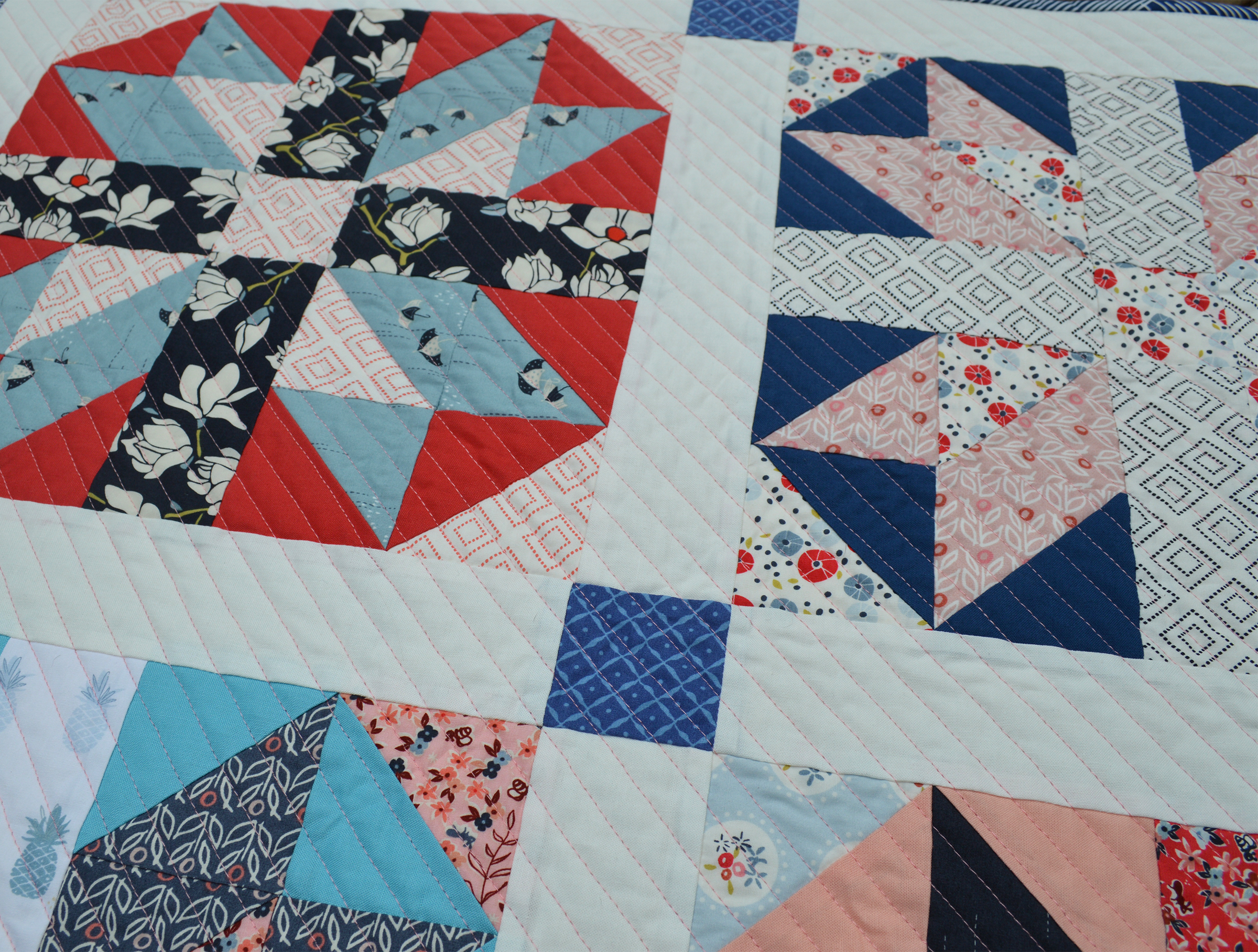 Line Art Quilt Pattern : Seaside stars new quilt pattern diary of a quilter