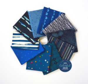 Classic Blue fabric bundle sold by Color Girl Quilts