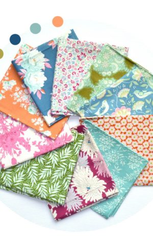 Tilda fabric fat eighth bundle for sewing