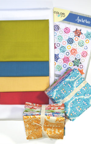 Aurora Quilt pattern kit by Color Girl Quilts