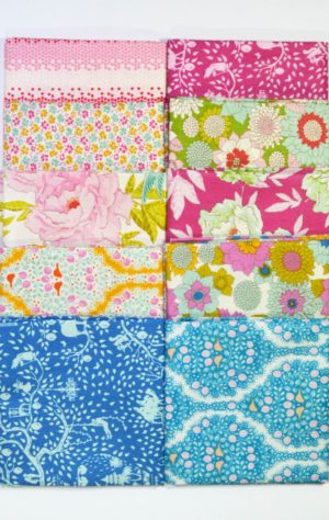 Tilda Lemon Tree fabrics bundle for quilting by Color Girl quilts