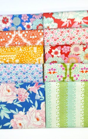 Tilda Lemon Tree fabric bundle for quilting by Color Girl quilts