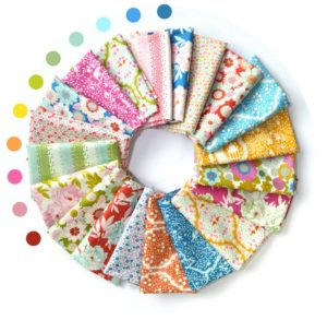 Tilda Lemon Tree collection fabric bundle sold by Color Girl quilts