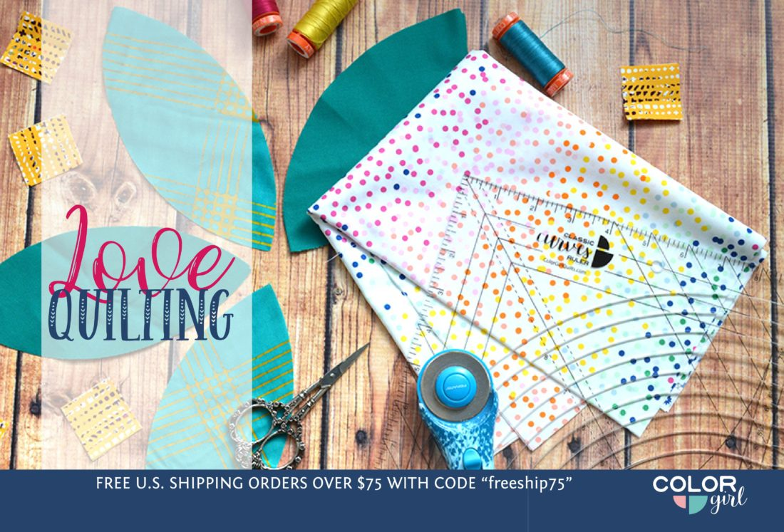 Love Quilting, colorgirlquilts.com