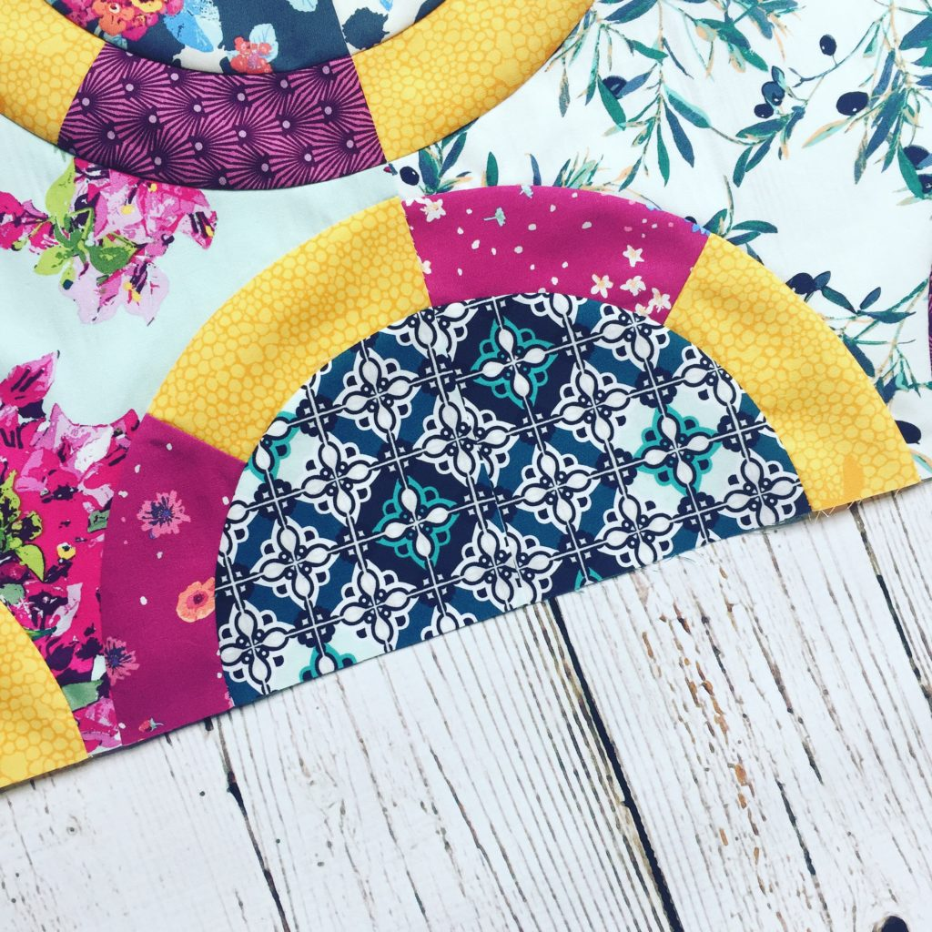 Black Jack quilt pattern made with Mediterreneo fabrics by AGF, pattern by Color Girl Quilts
