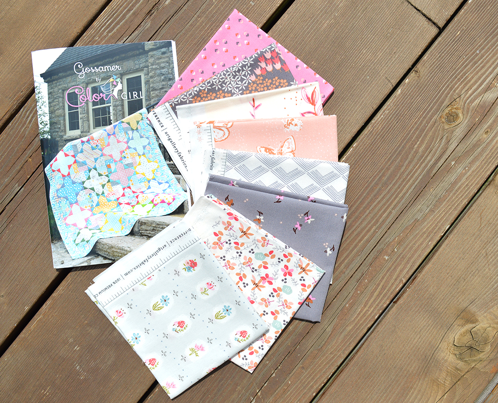 doll house fabrics and gossamer quilt pattern giveaway