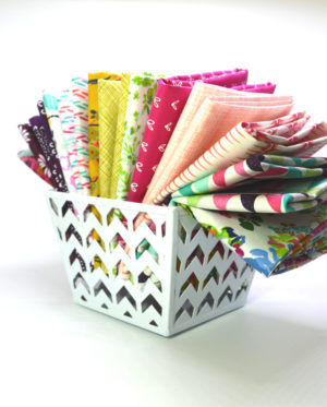 girlfriends fabric bundle for quilt making, custom fabric collection by Color Girl Quilts