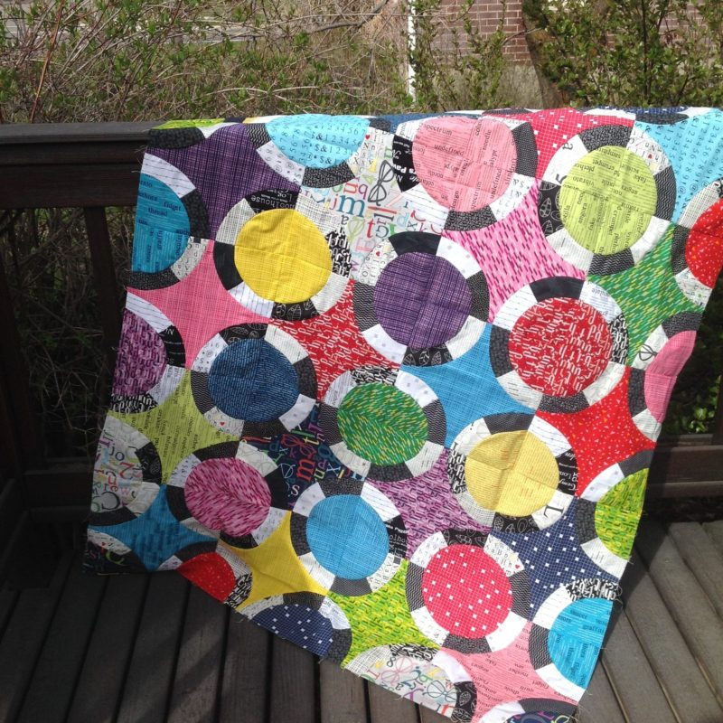 black jack quilt pattern by Color Girl Quilts