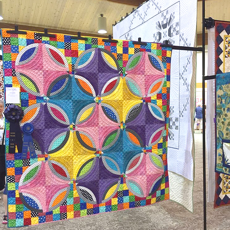 Polka Dot Bikini Quilt pattern by Color Girl Quilts