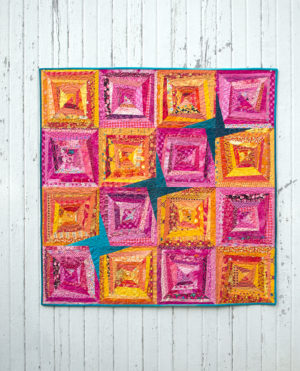 Heat Wave quilt for sale made by Color Girl Quilts